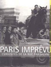 Paris Imprevu - Couverture - Format classique