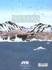 Quentin foloiseau t02 l'ile du bout du monde - 4ème de couverture - Format classique