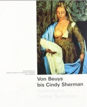 Von beuys bis cindy sherman - Couverture - Format classique