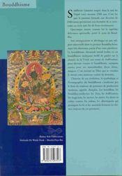 Symbolisme du bouddhisme dans thangkas - 4ème de couverture - Format classique