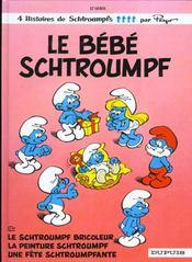Les Schtroumpfs T.12 ; le bébé Schtroumpf - Intérieur - Format classique