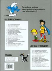 Les Schtroumpfs T.12 ; le bébé Schtroumpf - 4ème de couverture - Format classique