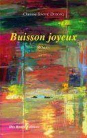 Buisson joyeux - Couverture - Format classique