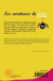 Les Aventures De Lili - 4ème de couverture - Format classique