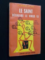 Le Saint découvre le virus 13 - Couverture - Format classique