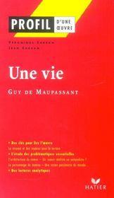 Une vie de Guy de Maupassant - Intérieur - Format classique
