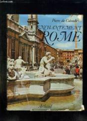 Enchantement De Rome. - Couverture - Format classique