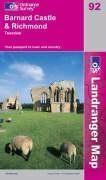 Barnard castle 1/50 000 - Couverture - Format classique