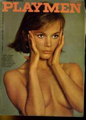 PLAYMEN, le magazine des hommes 1ère année N°5 - PIERRE CARDIN - JANE WILSON - ERNST FUCHS - OTIS BROWN... - Couverture - Format classique
