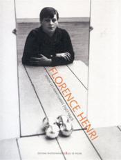 Florence Henri ; le miroir des avant-gardes, 1928-1940 - Couverture - Format classique