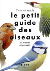 Le petit guide ; des oiseaux - Couverture - Format classique