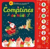 Écoute et chante ; comptines de Noël - Couverture - Format classique