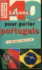 40 Lecons Pour Parler Portugais - Couverture - Format classique