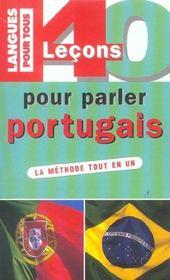 40 Lecons Pour Parler Portugais - Intérieur - Format classique
