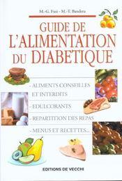 Alimentation Du Diabetique - Intérieur - Format classique