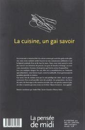 Revue La Pensee De Midi T.13 - 4ème de couverture - Format classique