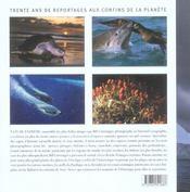 Nature extreme trente ans de reportages marins - 4ème de couverture - Format classique