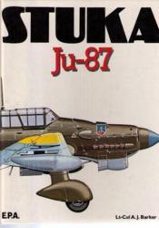 Stuka Ju-87 - Couverture - Format classique