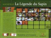 La légende du sapin - 4ème de couverture - Format classique