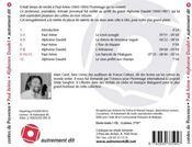 Contes et nouvelles de Provence - 4ème de couverture - Format classique