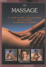 Le Massage - Couverture - Format classique