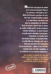 Fils du ciel - 4ème de couverture - Format classique