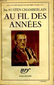Au Fil Des Annees. - Couverture - Format classique