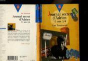 Journal Secret D'Adrien 13 Ans 3/4 - Couverture - Format classique