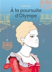 À la poursuite d'Olympe - Couverture - Format classique
