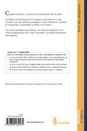 Droit des obligations 2015-2016 ; licence, master, concours (6e édition) - 4ème de couverture - Format classique