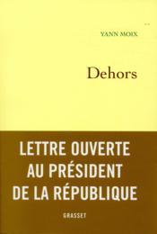 Dehors - Couverture - Format classique
