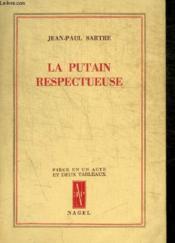 La Putain Respectueuse - Couverture - Format classique