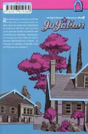 Jojo's - jojolion t19 - 4ème de couverture - Format classique