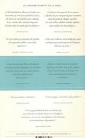 La saga des Cazalet T.3 ; confusion - 4ème de couverture - Format classique