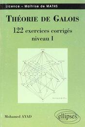 Theorie De Galois 122 Exercices Corriges Niveau I Licence Maitrise De Maths - Intérieur - Format classique
