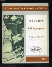 Senghor Ethiopiques - Couverture - Format classique