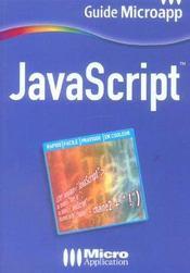 Javascript - Intérieur - Format classique
