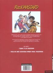Rock Mastard t.2 ; pas de deo gratias pour Rock Mastard - 4ème de couverture - Format classique