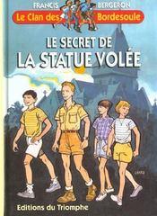 Le secret de la statue volée - Intérieur - Format classique