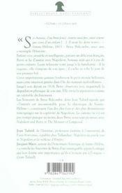 La petite fiancee de napoleon souvenirs de betsy balcombe a sainte-helene, 1815-1818 - 4ème de couverture - Format classique