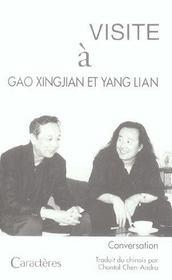 Visite à Gao Xingjian et Yang Lian - Intérieur - Format classique