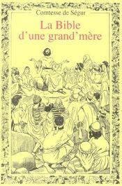 La bible d'une grand-mère - Intérieur - Format classique