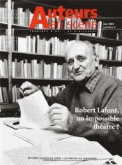Auteurs En Scène ; Théâtres D'Oc... Et D'Ailleurs N.5 ; Robert Lafont, Un Impossible Théâtre ? Mai 2003 - Couverture - Format classique