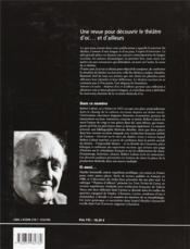 Auteurs En Scène ; Théâtres D'Oc... Et D'Ailleurs N.5 ; Robert Lafont, Un Impossible Théâtre ? Mai 2003 - 4ème de couverture - Format classique