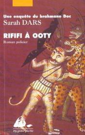 Rififi à Ooty - Couverture - Format classique