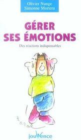 Gerer ses emotions n.29 - Intérieur - Format classique