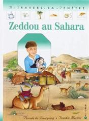 Zeddou au sahara - Couverture - Format classique