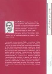 Theatre En Miroirs ; L'Histoire De Vie Mise En Scene - 4ème de couverture - Format classique