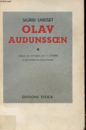 Olav Audunssoen Et Ses Enfants Tome 1 - Couverture - Format classique