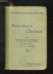 MORCEAUX CHOISIS DU XVI AU XX SIECLE. COURS MOYEN 10em EDITION. - Couverture - Format classique